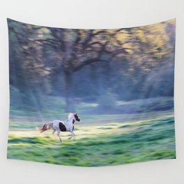 Chasing The Morning Light Wall Tapestry