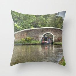 Fradley junction Throw Pillow