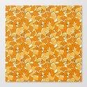 ginkgo leaves (orange) by johannakindvall