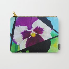 Broody Pansy Carry-All Pouch