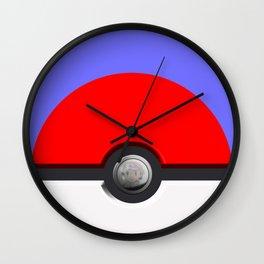 Pokeball Wall Clock
