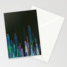 cactus nigth Stationery Cards