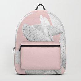 White Blush Cactus #1 #plant #decor #art #society6 Backpack
