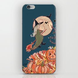 Witch On A Broomstick iPhone Skin