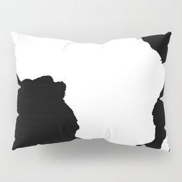 Black Audacious Africa Pillow Sham