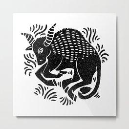 taurus zodiac Metal Print