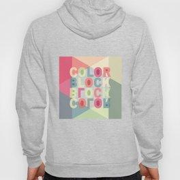 Color Block Hoody