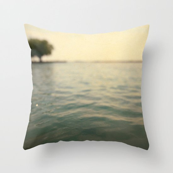 Sea Level Throw Pillow