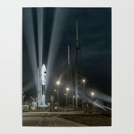 Why Do Rockets Launch At Night Poster