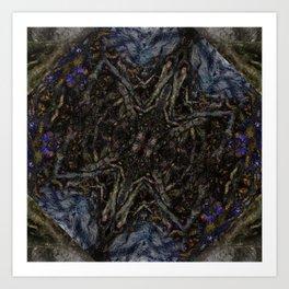 Tree Root Fractal Art Print