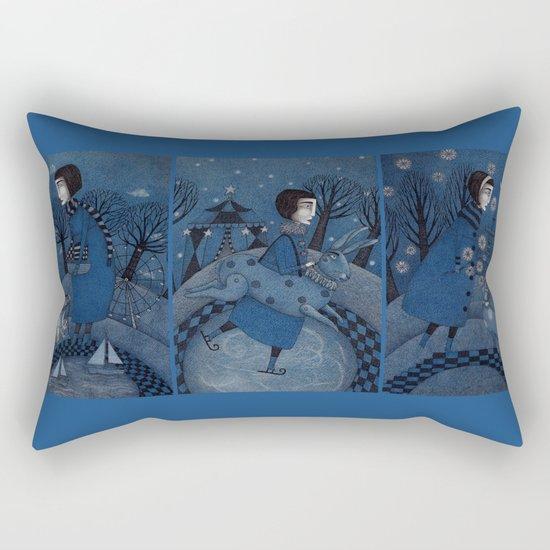 December Park (3) Rectangular Pillow