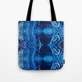 Royal Boho blue pattern Tote Bag