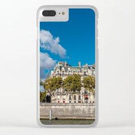Views of Paris, France Clear iPhone Case