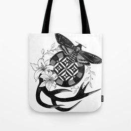 Acherontia Atropos - Hannibal Tote Bag