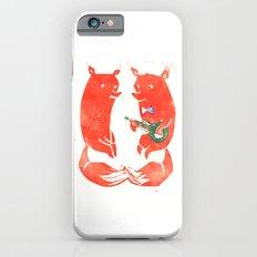 Mister Fox in love iPhone 6s Slim Case