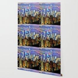 Hong Kong City Skyline Wallpaper