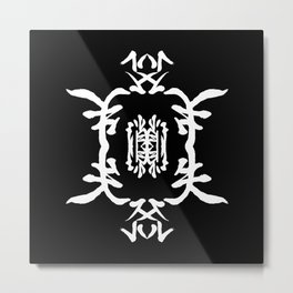 JAPANESE KANJI ART (SHOUSHITSUSURU=VANISH) by AKIRA Metal Print