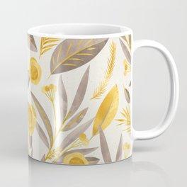 golden leaves Coffee Mug