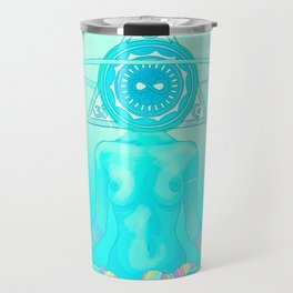 Sun Head 2 Travel Mug