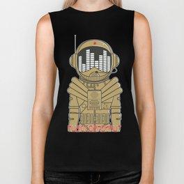 Music Cosmonaut Biker Tank