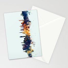 Glasgow Scotland Skyline Stationery Cards