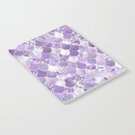 Mermaid Treasure, Purple Jewels Notebook