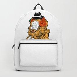 Bearded Women Girl Backpack