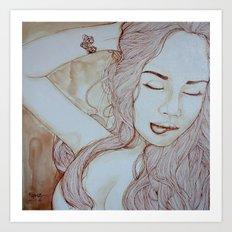 Sensualite Art Print