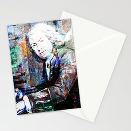 Bach Composer Musician Collage Portrait Stationery Cards
