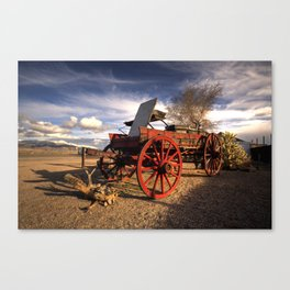 The Old Waggon  Canvas Print