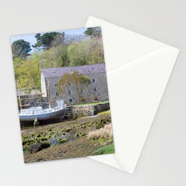 Old mill by a creek in Anglesey, Wales, United Kingdom Stationery Cards