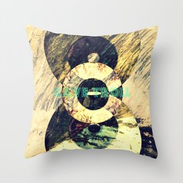 CAVE TROLL Throw Pillow