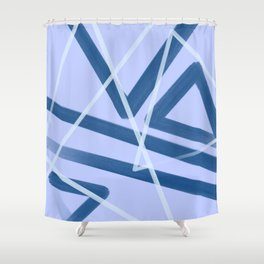 Tri Tangled Shower Curtain