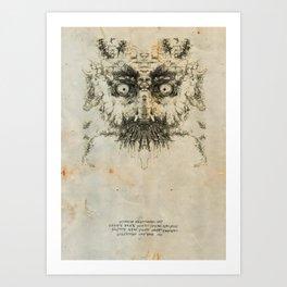Skulloid I Art Print