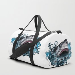 Shark Attack Duffle Bag