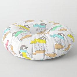 Penguin Violinist Floor Pillow