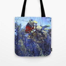 Motocross Dirt-Bike Championship Race Tote Bag