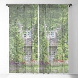 Summer House Sheer Curtain