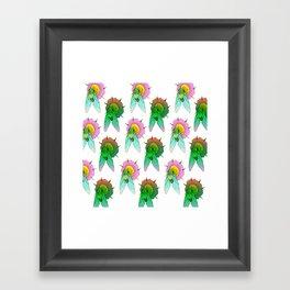 Cicadas Parade Framed Art Print