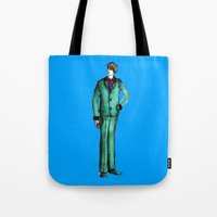 givenchy Tote Bags featuring Beetles Green Dandy by Notsniw