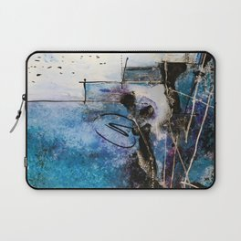 Midnight Sky, Acrylic artwork Laptop Sleeve