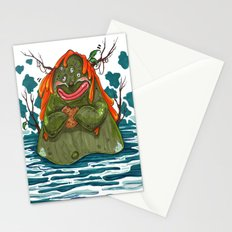 Cookie Swamp Monster Stationery Cards