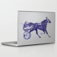 sport Laptop & iPad Skins featuring Sport Horses by Tosasmok