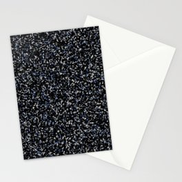 Black White and Blue Marble Stationery Cards