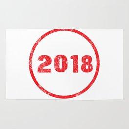 Ink Stamp 2018 Rug