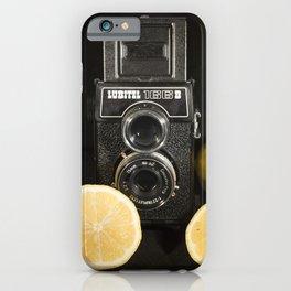 Lubitel Lemons iPhone Case