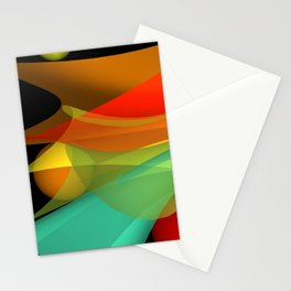 floating colors -a- Stationery Cards