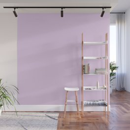 Pale Periwinkle Solid Color Wall Mural