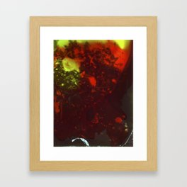 Painted Camellias Framed Art Print