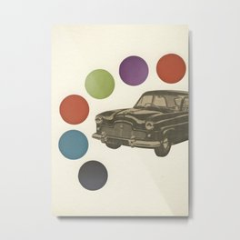 Driving Around in Circles Metal Print